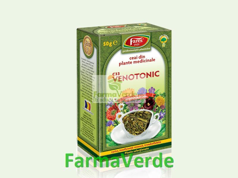 Ceai Venotonic 50 g Fares