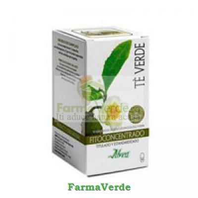 Ceai verde Plus 70 capsule Aboca