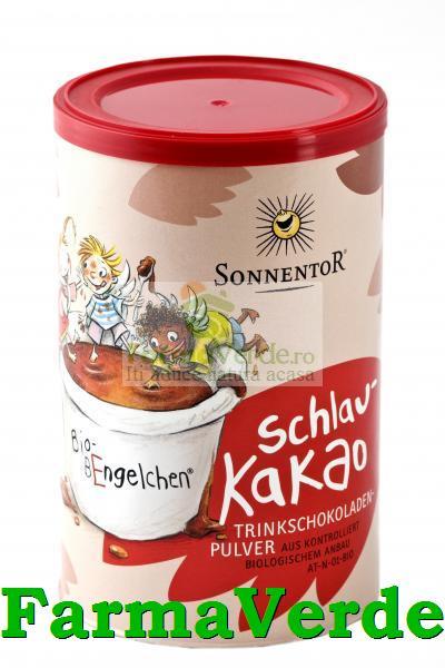Ciocolata Calda Instant SchlauKakao Bio 300 Gr Sonnentor