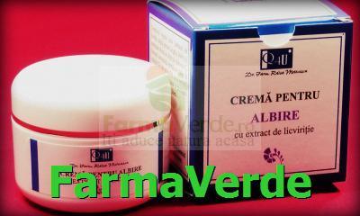 Crema pentru Albire reduce pigmentarea 50 ml TIS Farmaceutic