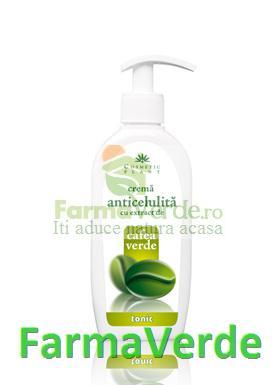 Crema Anticelulita Extract de Cafea Verde TONIC Cosmetic Plant