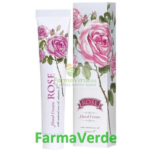 Crema de Maini TRANDAFIRI 50 ml Colectia Roze