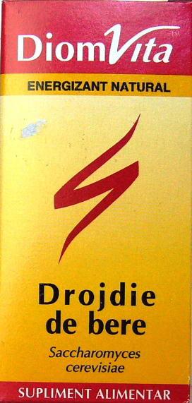 Diomvita Drojdie de Bere cpr 0,20G 60 gr DIOMSANA