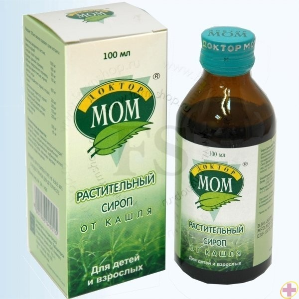 Doktor Mom Sirop de Tuse 100 ml UNIQUE PHARMACEUTICAL