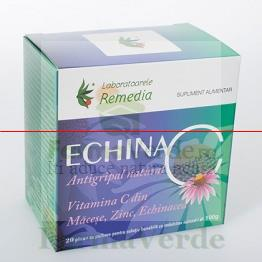 Echina C 1000 mg Echinacea C Antigripal 20 plicuri Remedia
