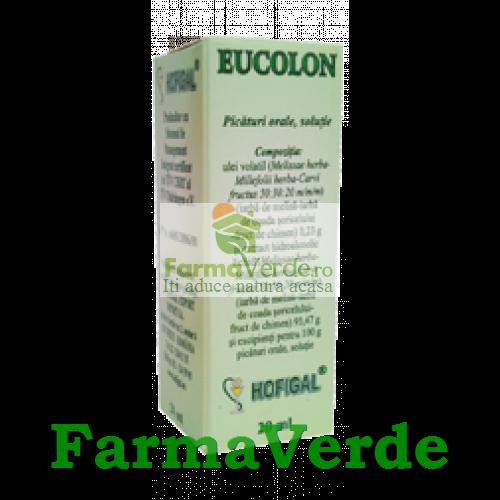 Eucolon Solutie 20 ml Hofigal