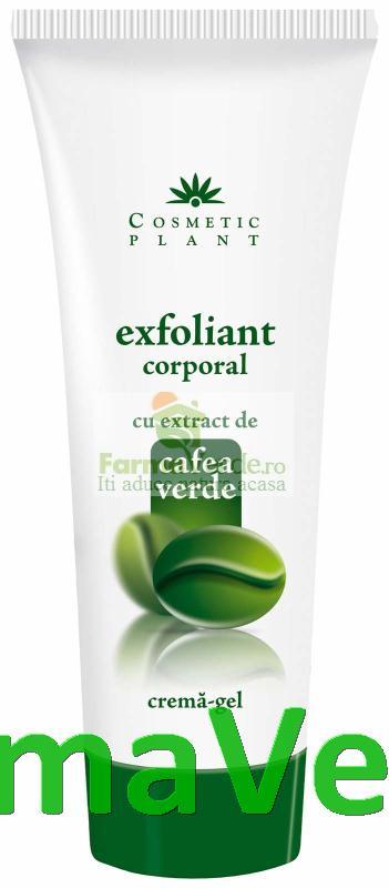 Exfoliant Corporal cu Extract de Cafea Verde Cosmetic Plant