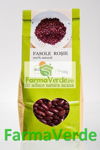 Fasole Rosie 500 Gr Bio Longevita Solaris Plant