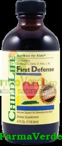 First Defence 118.5ml Imunitate Copii Secom