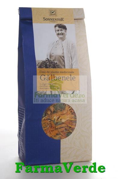 Ceai Plante Flori de Galbenele BIO 50 gr Sonnentor
