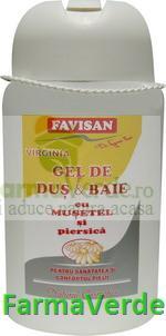 Gel Dus & Baie cu Musetel 300 ml Favisan