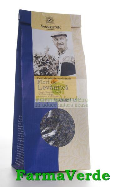 Ceai Plante Flori De Levantica Bio Ecologic 70 Gr Sonnentor