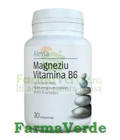 Magneziu si Vitamina B6 30 Cpr Alevia