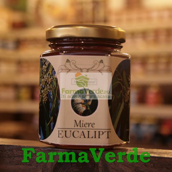 Miere cu Eucalipt 250 gr Prisaca Transilvania