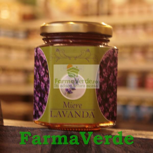 Miere cu Lavanda 250 gr Prisaca Transilvania