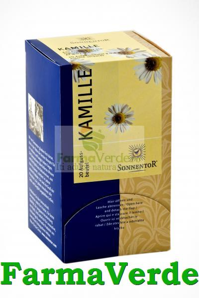 Ceai Plante Musetel Bio 20 doze Sonnentor
