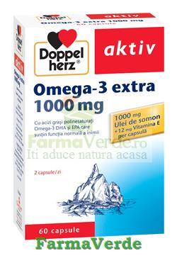 Doppelherz Aktiv Omega 3 extra 1000 mg 60 capsule