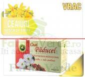 Ceai Paducel-Crataegus Monogyna 20 doze 30 gr Hypericum