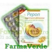 Pepon 30 capsule cu ulei de dovleac Qauantum Pharm