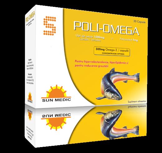 Poli Omega 30 Cps SunMedic