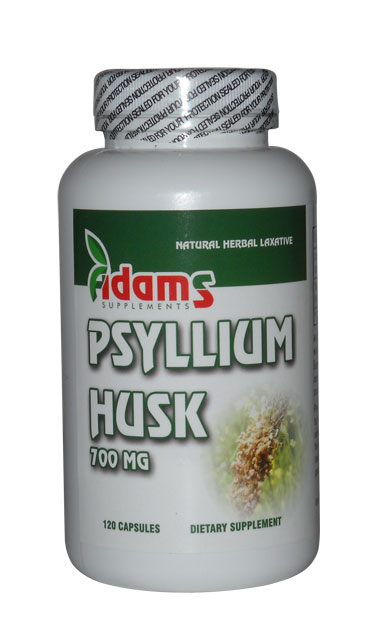TARATE DE PSYLLIUM 700mg - 120 cps ADAMS VISION