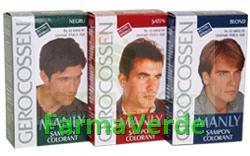 Gerocossen Sampon Colorant pentru Barbati Negru, Saten, Blond