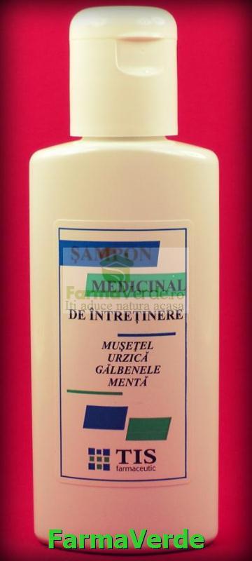 Sampon medicinal de Intretinere 100 ml TIS Farmaceutic