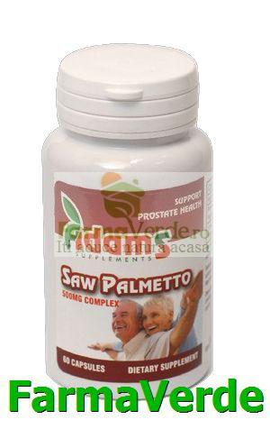 Saw Palmetto 600 mg 60 capsule Adams Vision