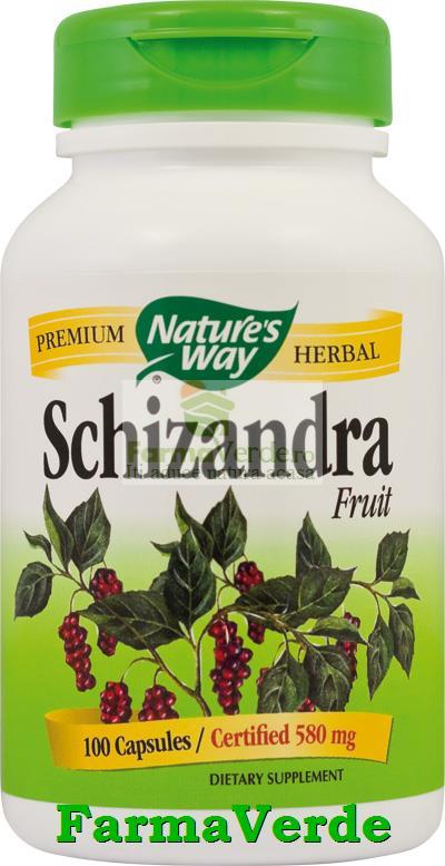 Schizandra Fruct 100 Capsule Nature's Way Secom