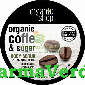 Scrub corporal Cafea braziliana finete si elasticitate OS21