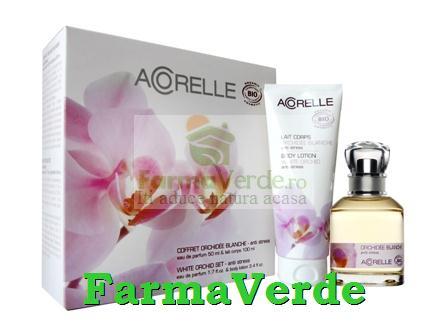 Set Cadou White Orchid Acorelle BIO Life Care