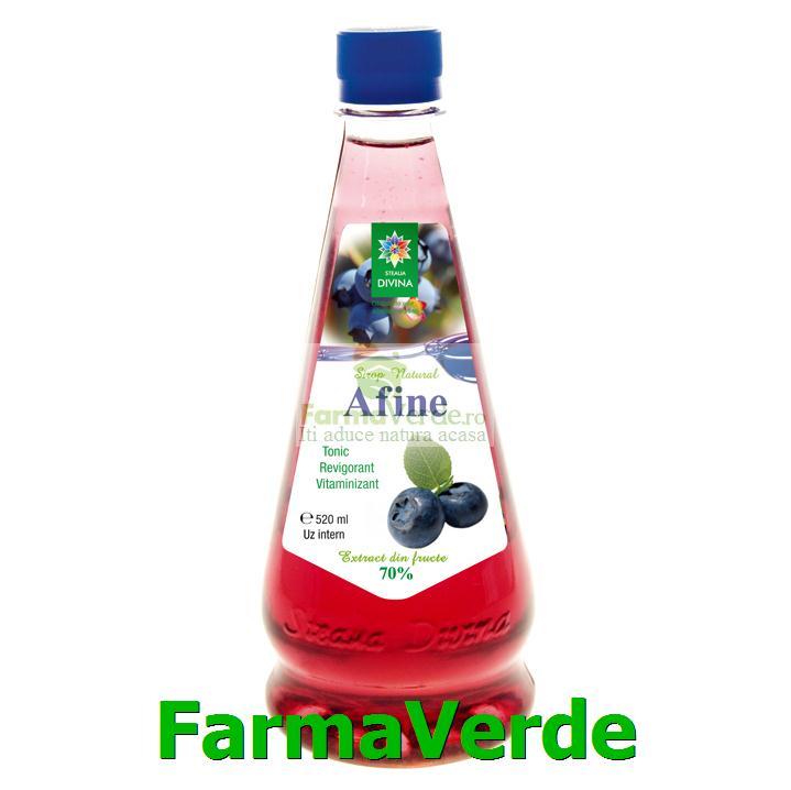 Sirop de Afine 520 ml Steaua Divina