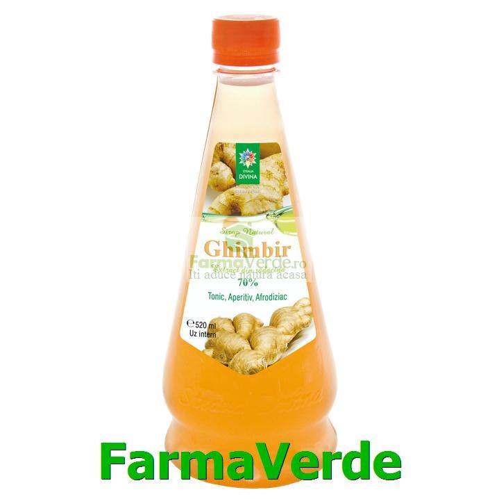 Sirop de Ghimbir 520 ml Steaua Divina
