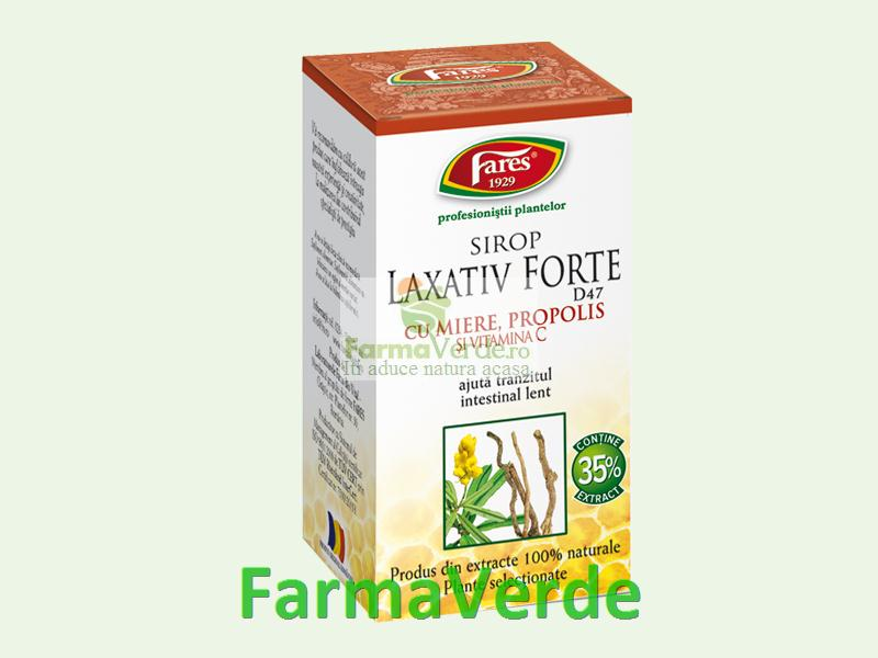 Sirop cu Miere LAXATIV FORTE 100 ml Fares