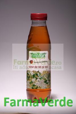 Sirop de Tei si Soc 500 ml Plafar