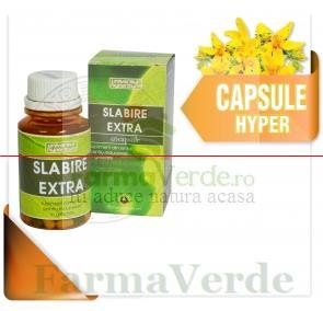 Slabire Extra 60 Capsule Hypericum Plant