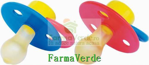Suzeta latex decorata RO 0302 Primii Pasi