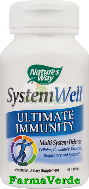 System Well Ultimate Immunity 45Tb Nature's Way Secom