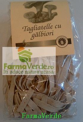 Paste Fainoase Tagilatelle cu Galbiori BIO 250gr SANO VITA