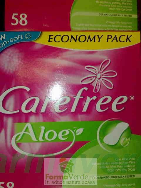 Carefree Tampoane Aloe 58 buc Johnson