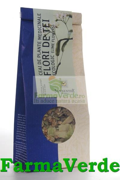 Ceai Plante Flori de Tei BIO Ecologic 35 gr Sonnentor