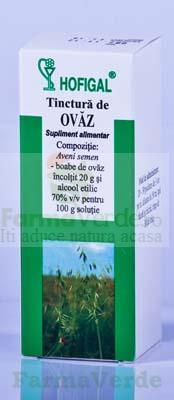 Tinctura de Ovaz 50 ml Hofigal