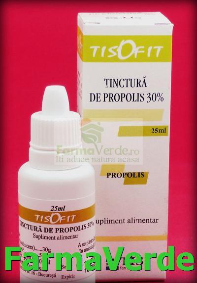 Tisofit Tinctura de Propolis 30% 25ml TIS Farmaceutic