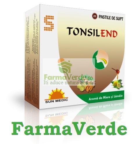 Tonsilend Miere si Lamaie (AntiTusive) Sun Wave Pharma