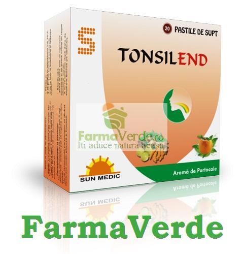 Tonsilend Portocale (AntiTusive) Sun Wave Pharma