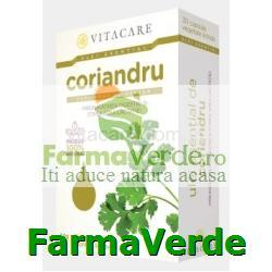 Ulei Esential Coriandru 30 capsule Vita Care