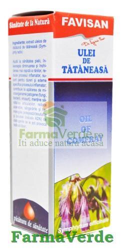 Ulei de tataneasa 30 ml Favisan