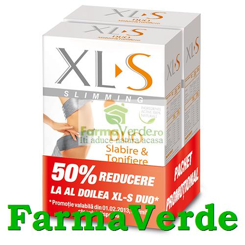 XL-S Duo Slabire Tonifiere 1+1(-50% GRATIS!) Hipocrate Omega