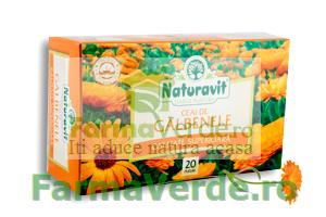 Ceai Galbenele Biovit 20 doze Naturavit
