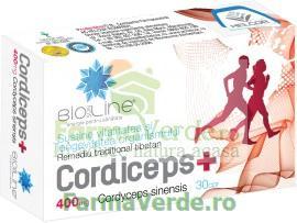 Cordiceps Plus 400 mg 30 comprimate ACHelcor